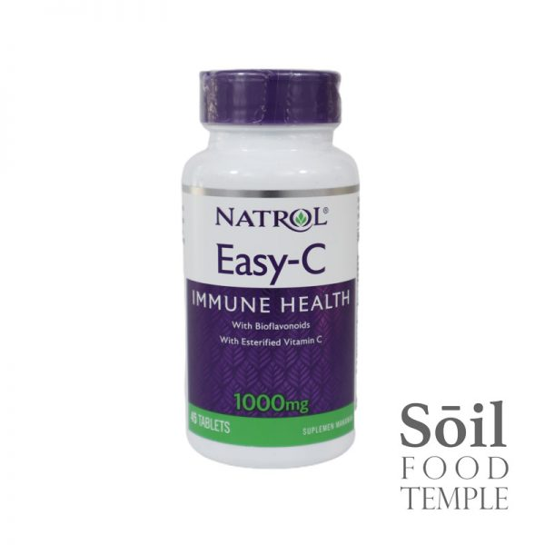 Vitamin & Nutrition Natrol Easy C 1000mg Available in 45 tablets