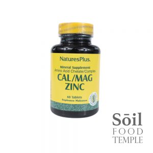 Vitamin & Nutrition Natures Plus Cal/Mag Zinc Available in 60 tablets