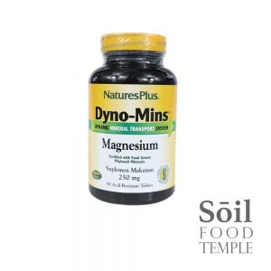 Vitamin & Nutrition Natures Plus Dyno-Mins Magnesium 250mg Available in 90 tablets