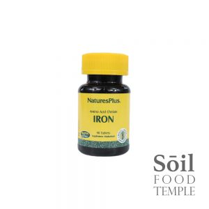 Vitamin & Nutrition Natures Plus iron Available in 90 tablets